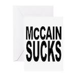 McCain Sucks Greeting Card
