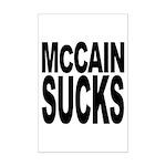McCain Sucks Mini Poster Print
