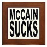 McCain Sucks Framed Tile