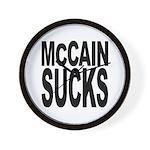 McCain Sucks Wall Clock