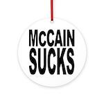 McCain Sucks Ornament (Round)