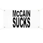 McCain Sucks Banner