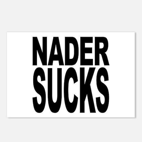 Nader Sucks Postcards (Package of 8)