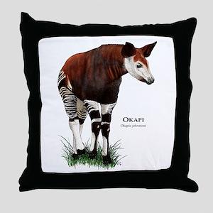 Okapi Throw Pillow