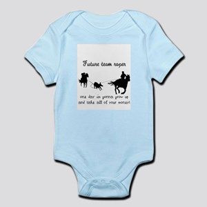 Infant team roper Bodysuit- Future team roper