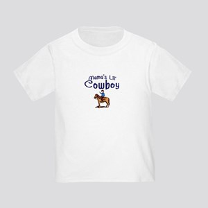Toddler Western T-Shirt, 'Mama's lil' Cowboy'