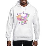 Suichuan China Map Hooded Sweatshirt