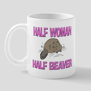 Half Woman Half Beaver Mug