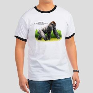 Western Lowland Gorilla Ringer T