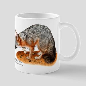 Gray Fox Mug