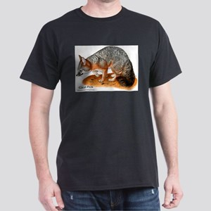Gray Fox Dark T-Shirt