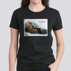 Sea Otter Women's Dark T-Shirt