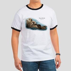 Sea Otter Ringer T