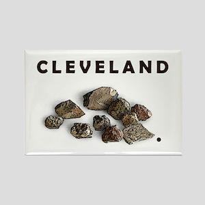 Cleveland Rocks Rectangle Magnet