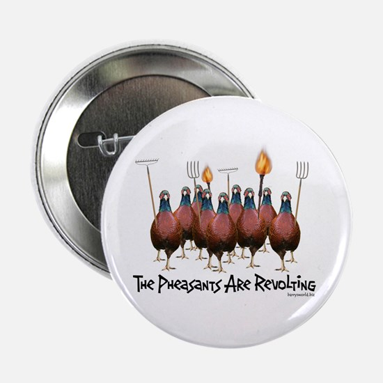 "Pheasants1 2.25"" Button (10 pack)"
