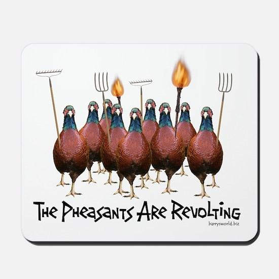 Pheasants1 Mousepad