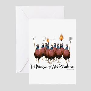 Pheasants1 Greeting Cards (Pk of 20)
