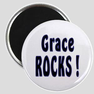Grace Rocks ! Magnet
