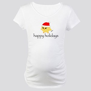 Soychick Holiday Maternity T-Shirt