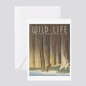 Wild Life Greeting Card