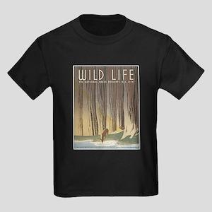 Wild Life Kids Dark T-Shirt
