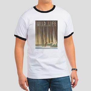 Wild Life Ringer T