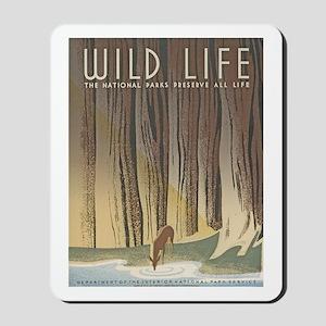 Wild Life Mousepad