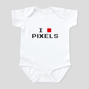 I Love Pixels Infant Bodysuit