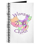 Wanzai China Map Journal