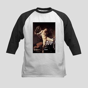 Caravaggio's Amor Vincit Omnia Kids Baseball Jerse