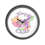 Xinyu China Map Wall Clock