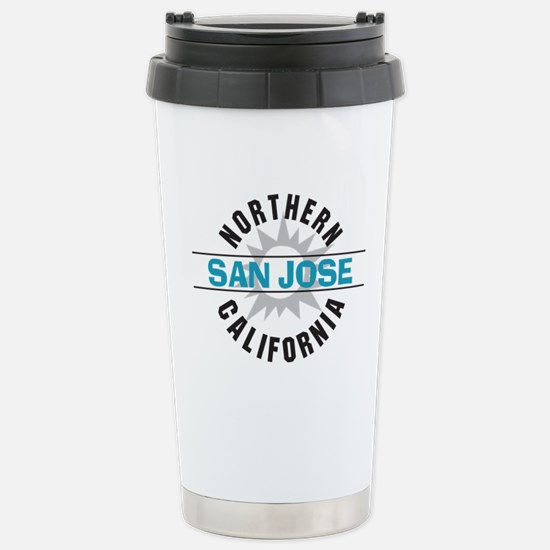 San Jose California Stainless Steel Travel Mug