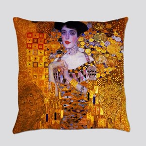 Klimt: Adele Bloch-Bauer I. Everyday Pillow