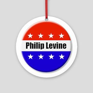 Philip Levine Round Ornament