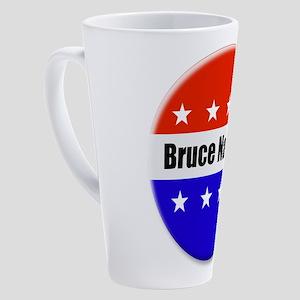Bruce Nathan 17 oz Latte Mug
