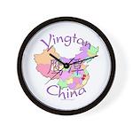 Yingtan China Map Wall Clock