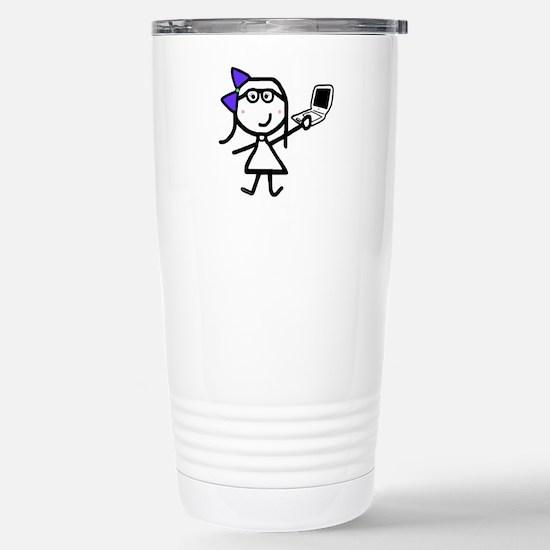 Girl & Mac Stainless Steel Travel Mug