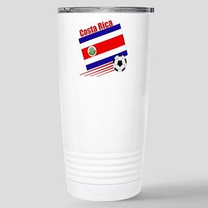 Costa Rica Soccer Team Stainless Steel Travel Mug