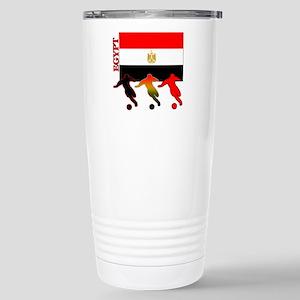 Egypt Soccer Stainless Steel Travel Mug