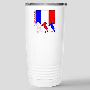 Soccer France Stainless Steel Travel Mug