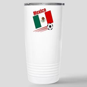 Mexico Soccer Team Stainless Steel Travel Mug