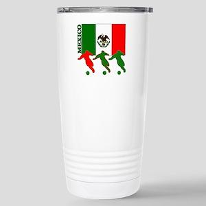 Soccer Mexico Stainless Steel Travel Mug