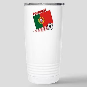 Portugal Soccer Team Stainless Steel Travel Mug