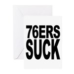 76ers Suck Greeting Cards (Pk of 10)