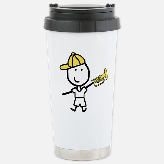 Boy & Mellophone Stainless Steel Travel Mug