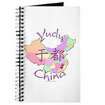 Yudu China Map Journal