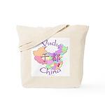 Yudu China Map Tote Bag