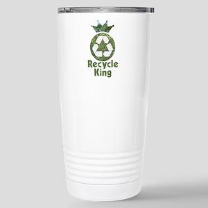 Recycle King Stainless Steel Travel Mug
