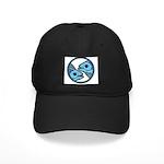 Pisces Astrology Sign Black Cap
