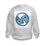 Pisces Astrology Sign Kids Sweatshirt